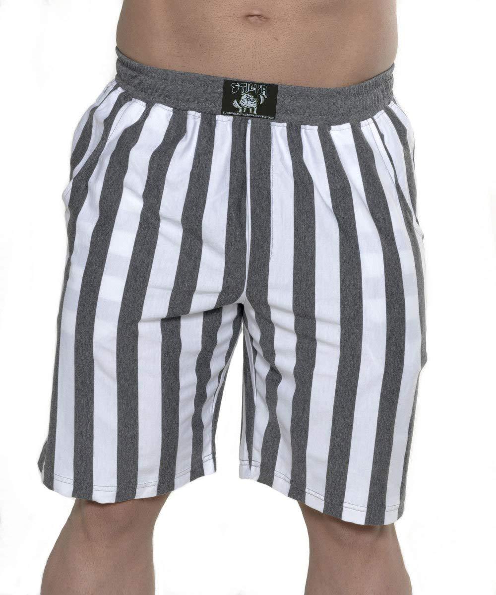 STILYA Sportswear Herren Company Shorts Capri Bodybuilding 1346-ST