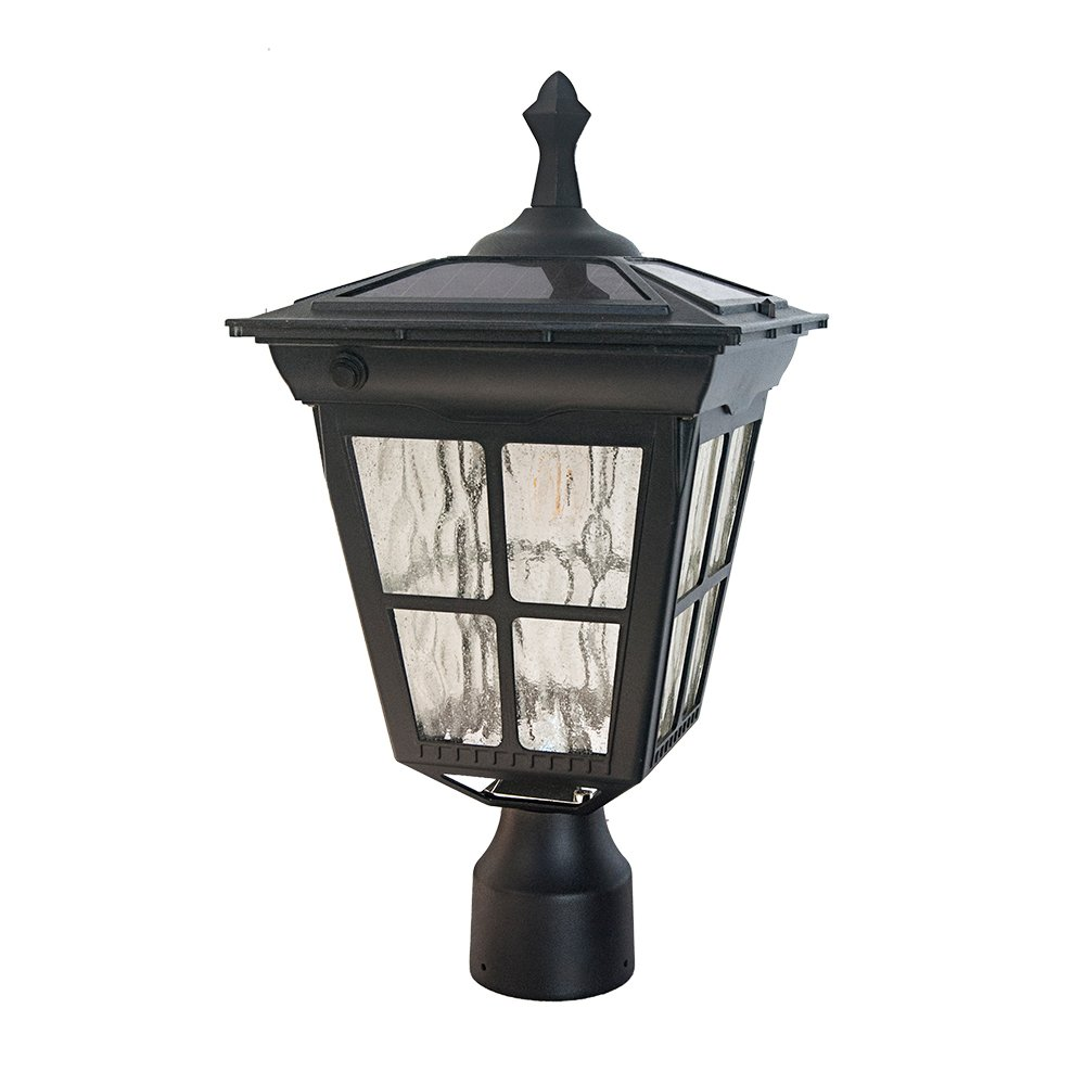 Kemeco St4311ahp 6 Led Cast Aluminum Solar Lamp Post Light With