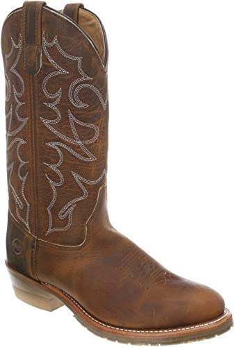 """Double H DH/_4409 11/"""" Domestic U-Toe Ice Roper Western Leather MADE IN USA"""