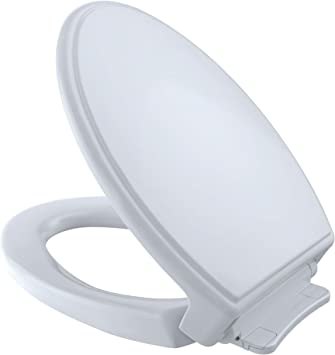 TOTO SS154#01 Traditional SoftClose Elongated Toilet Seat, Cotton