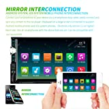 wsloftyGYd HEVXM Car Auto Radio Player MP5 7Inch HD Touch Screen Bluetooth for Android iOS
