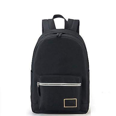 kaoling Mochila de moda para mujeres Mochilas de viaje de ocio Mochila para niñas Contraste de color adolescente Laptop Bagpack Mochilas escolares black: ...