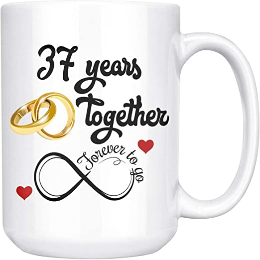 Couples Gifts for Her Him Personalised Doughnut Couples Anniversary Birthday