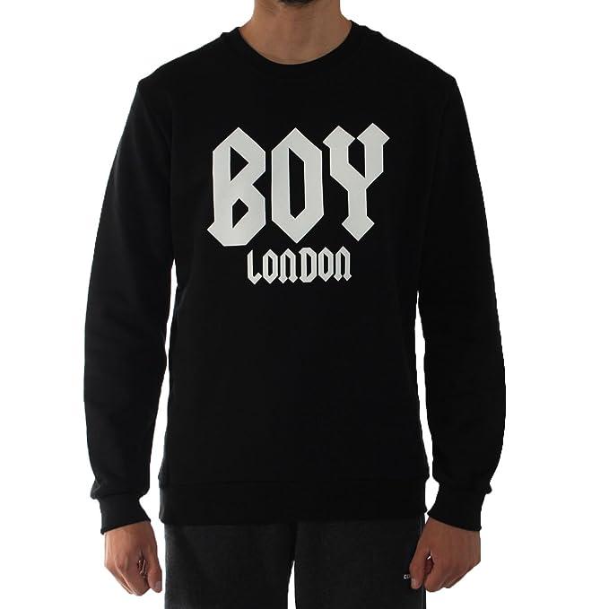 Boy London - Sudadera - para Hombre Negro Negro: Amazon.es: Ropa y accesorios