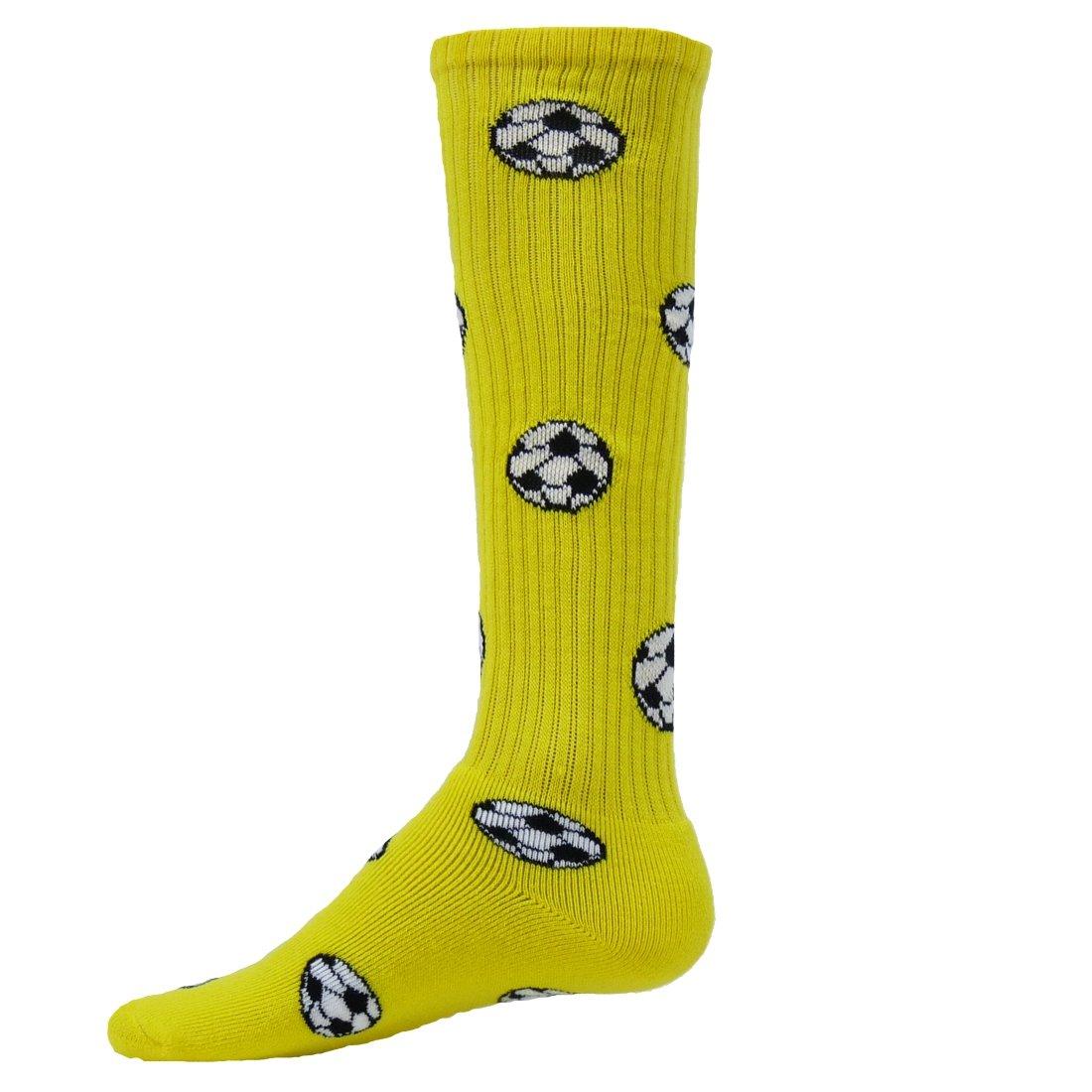 Red Lion Soccer Balls Athletic Socks ( Neon Yellow - Medium )