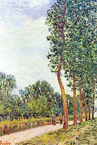 - Buyenlarge Banks of The Loing in Moret - Gallery Wrapped 44