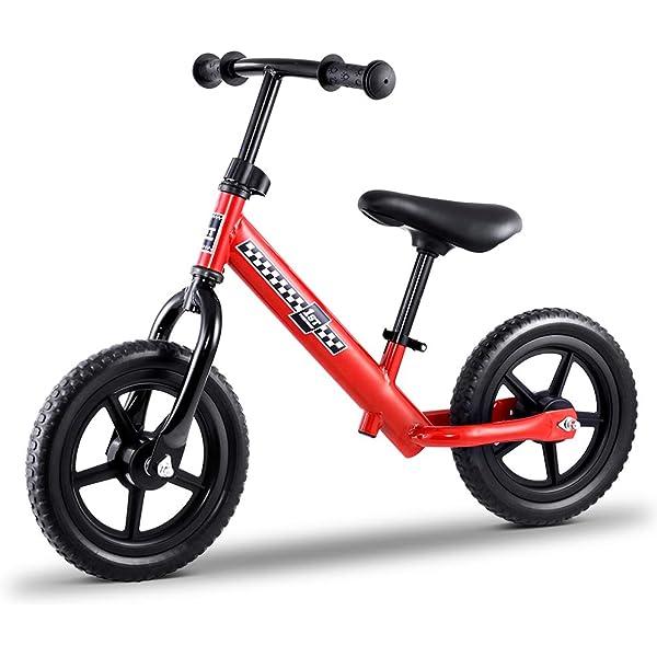 Kids Balance Bike Ride On Toys Push Bicycle Wheels Toddler Baby 12