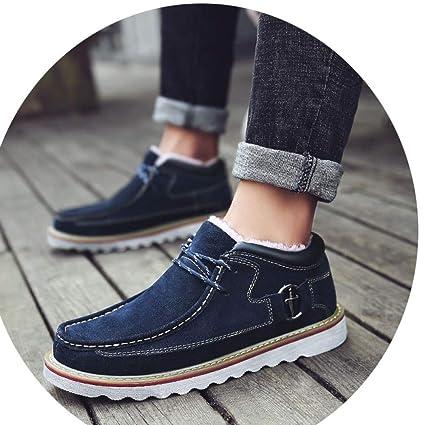 Shoes 2018 Botines para Hombres de Otoño, Botas de Herramientas de Inglaterra, Zapatos Grandes