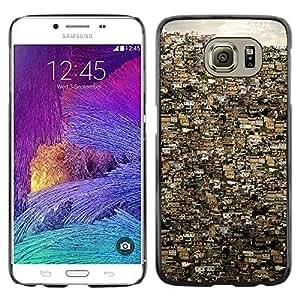 Be Good Phone Accessory // Dura Cáscara cubierta Protectora Caso Carcasa Funda de Protección para Samsung Galaxy S6 SM-G920 // Rio De Janeiro City Buildings Brazil
