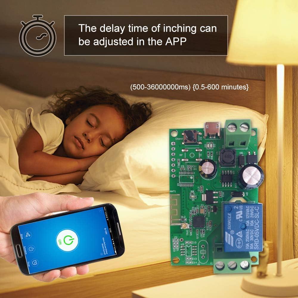 eWeLink DC5V 12V 24V 32V Wifi Switch Wireless Relay Module Smart Home Timer U7X5
