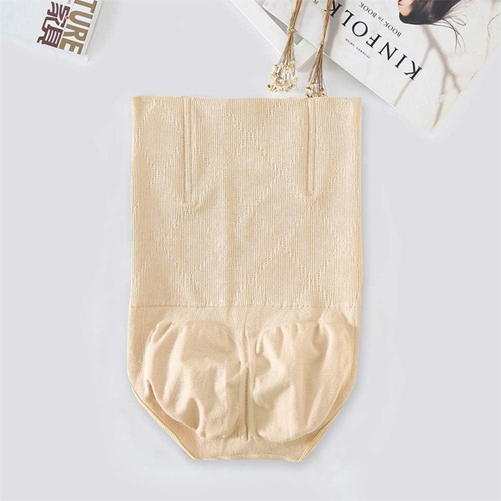 CofeeMO Womens High Waist Slim Body Shape Tummy Control Panties,Ladies Curve Defining Shapewear