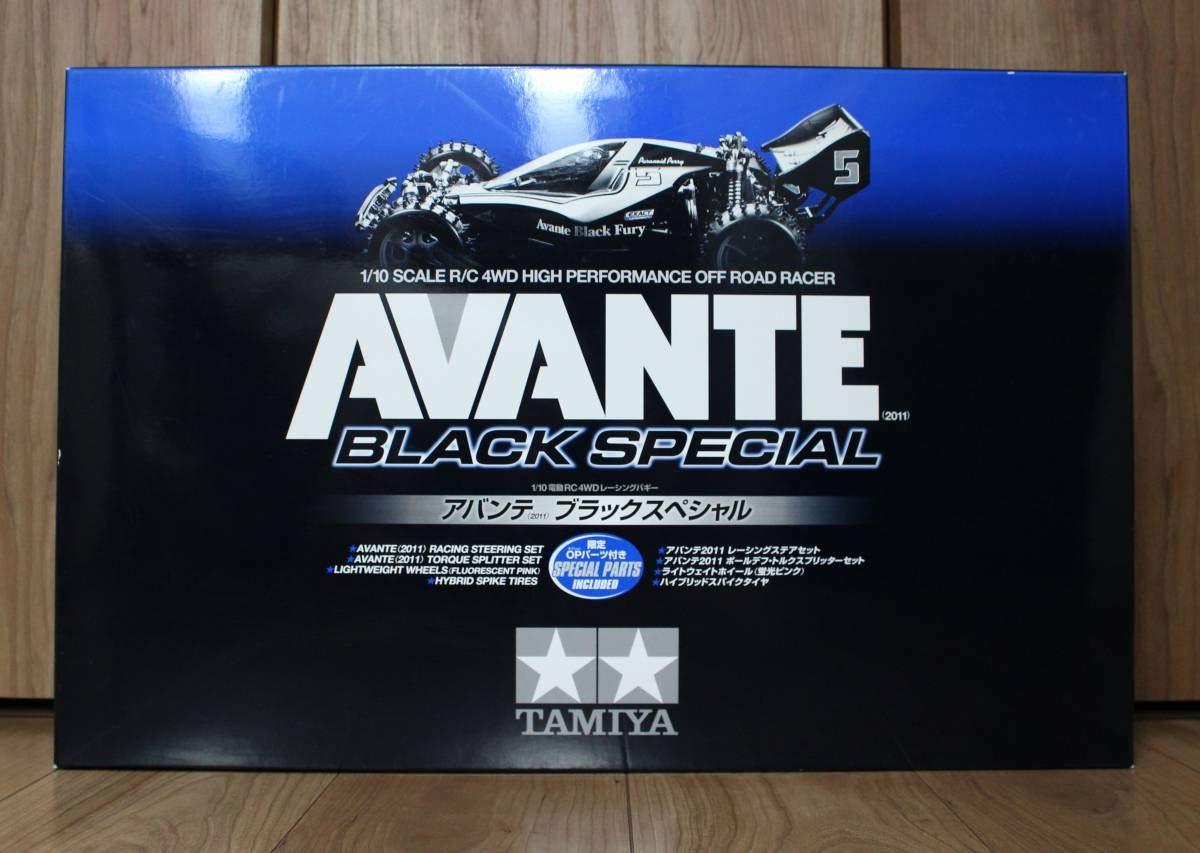 電動RC ITEM84270 2013年式 タミヤ アバンテ(2011)ブラックスペシャル 110 4WDレーシングバギー AVANTE 新品品   B07VPR9YY8