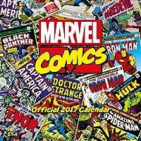 Marvel Comics Classic Official 2017 Square Calendar