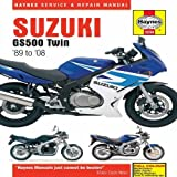 Suzuki GS500 Twin Service and Repair Manual: 1989 to 2008 (Haynes Motorcycle Manuals) by Coombs, Matthew, Mather, Phil (2009) Hardcover