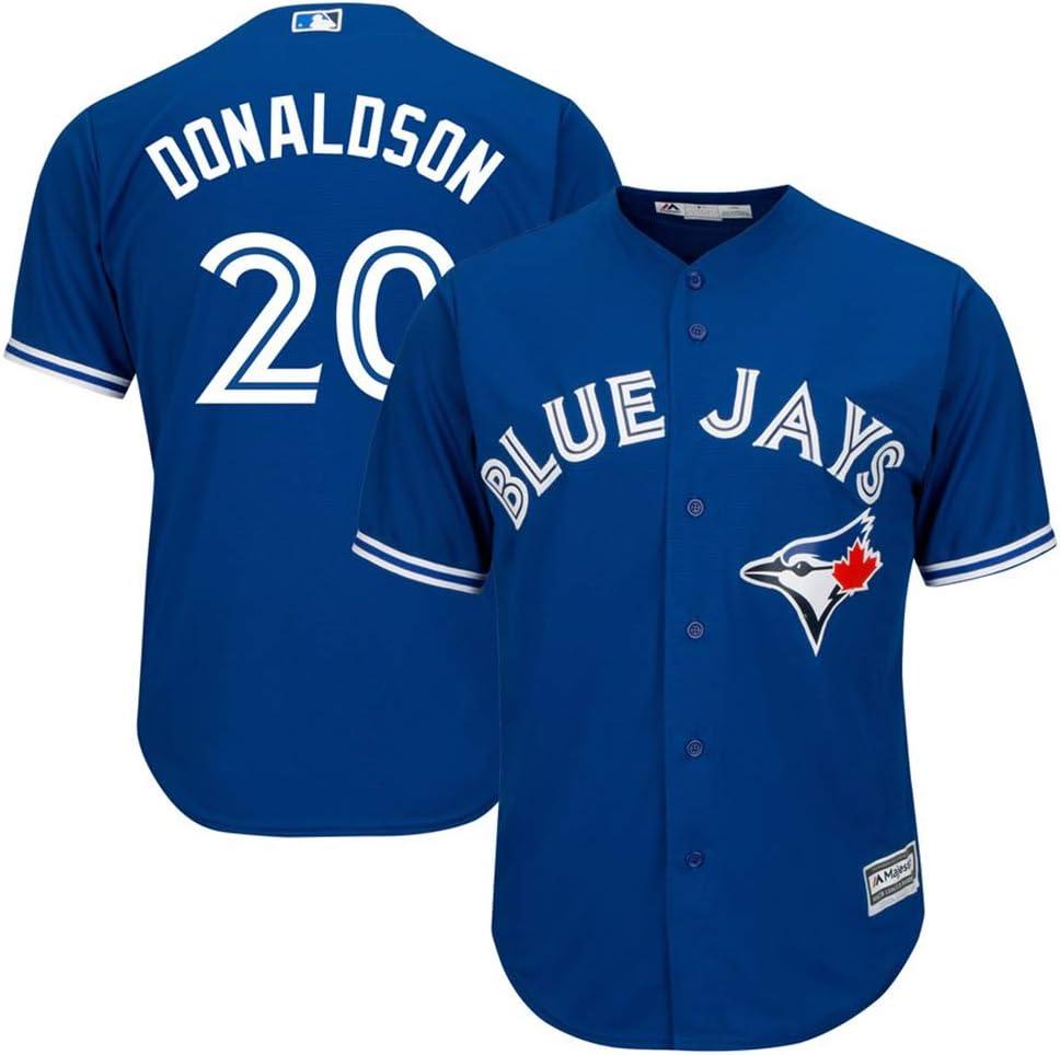 Xiaobudian Sudadera de Uniforme de b/éisbol Personalizada Personalizada Camiseta de los Blue Jays de Toronto Bordada con Nombre y n/úmeros para Hombres Mujeres y j/óvenes