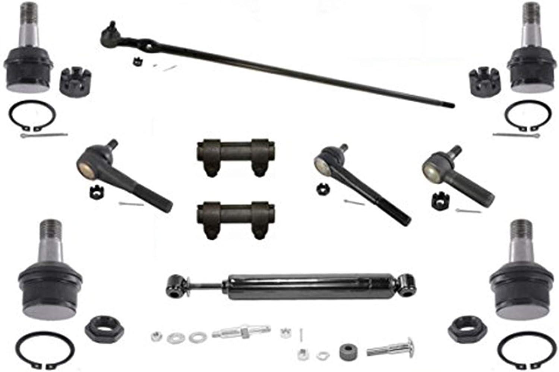 Mac Auto Parts Center Link Tie Rods Ball Joints fits 98-02 Isuzu Trooper 4 Wheel Drive
