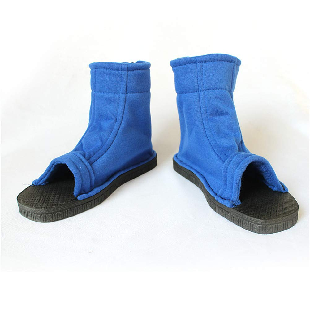 Amazon.com: Naruto Ninja Cosplay Blue Shoes Halloween [US 5 ...
