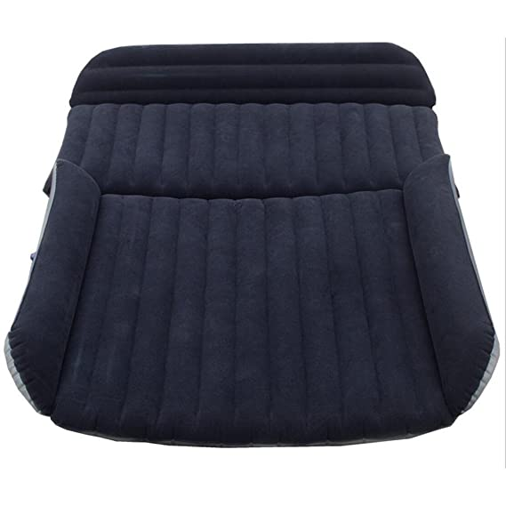 Car bed HUO Colchón Inflable Durable De La Cama De Aire para El SUV del Coche, Cojín del Sofá De La Silla Que Acampa Al Aire Libre Negro Verde (Color ...