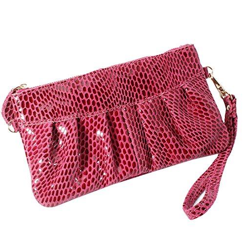 Missmay-Womens-Purse-Leather-Wristlet-Clutch-Handbag-Organizer-Coin-Card-Party