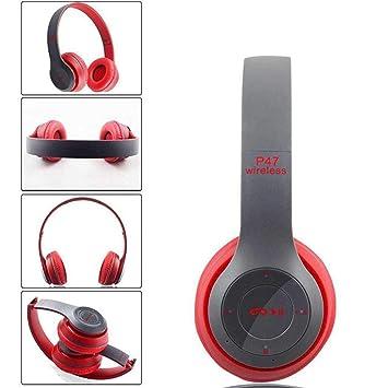 YENJOS Auriculares Bluetooth en el oído, Cancelación de Ruido Auriculares inalámbricos estéreo Bluetooth 4.1, Plegables para PC/Celulares / TV: Amazon.es: ...
