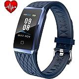 Willful Fitness Tracker Smartwatch Orologio Cardiofrequenzimetro da Polso Donno Uomo Bambini Android iOS Impermeabile IP68 Smart Watch Sportivo Braccialetto Contapassi Corsa per Xiaomi Huawei iPhone