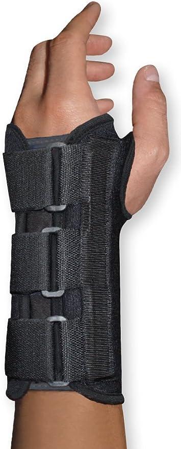 Left Hand Brand Solimo Copper Wrist Splint One Size