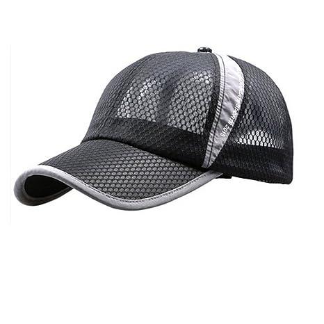 95825380b Womens Mens Quick Drying Mesh Baseball Cap Summer Cool Breathable  Lightweight Anti UV Sun Protection Hat Adjustable Snapback Tennis Golf  Fishing ...