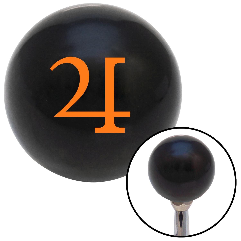 American Shifter 110123 Black Shift Knob with M16 x 1.5 Insert Orange Jupiter