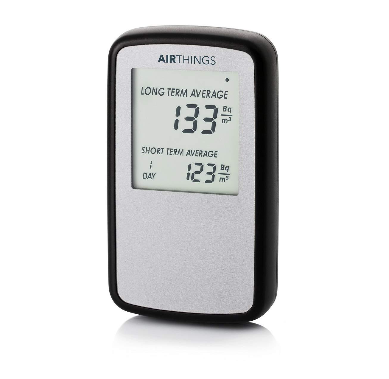 Detector de gas radón, versión internacional en Bq/m AirThings Corentium Home