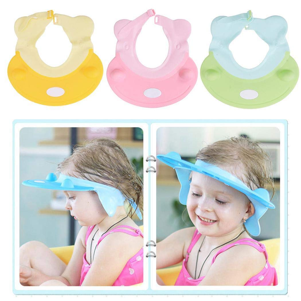 OYTRO New Safe Shampoo Shower Bathing Protect Soft Cap Hat for Baby Children Bathroom Safety