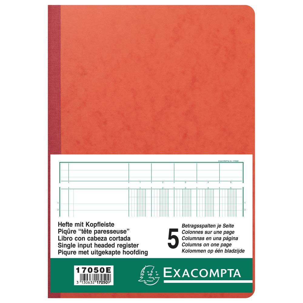 13 Spalten je Seite EXACOMPTA Geschäftsbuch mit Kopfleiste