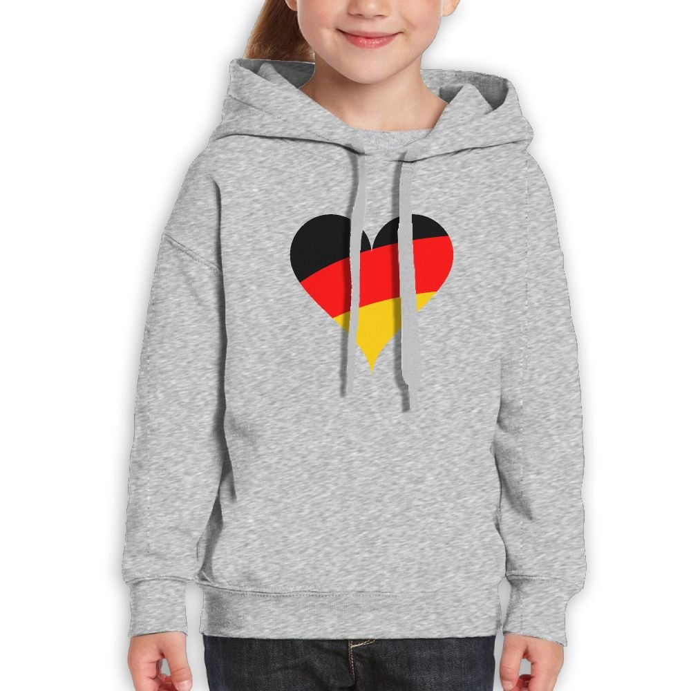 DTMN7 Germany Love Awesome Printed O-Neck Sweatshirt For Teens Spring Autumn Winter
