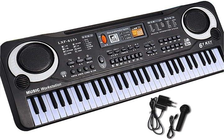 Juguete de piano electrónico, teclado electrónico de ...