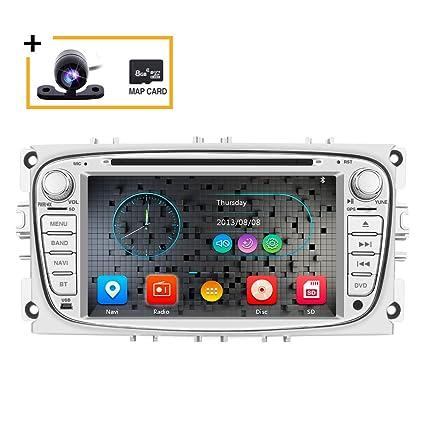 Freeauto - Reproductor de DVD para coche con 2 Din Radio GPS ...