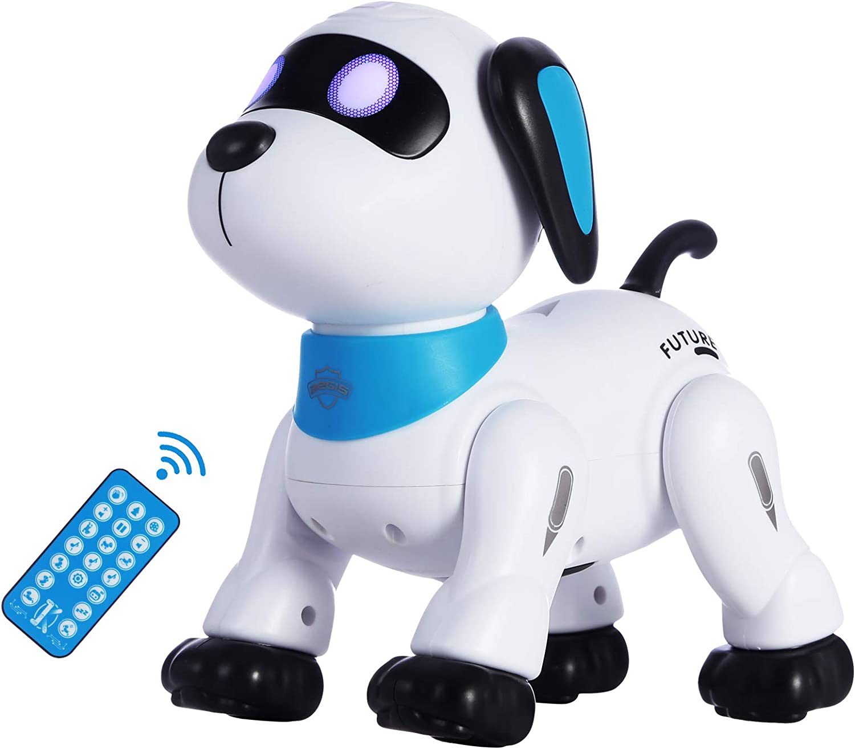 Yiman Programmable Interactive RC Robot Dog $29.89 Coupon