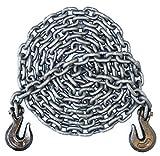 3/8'' - Grade 100 Binder Chain - Grab Hooks - 16' Length