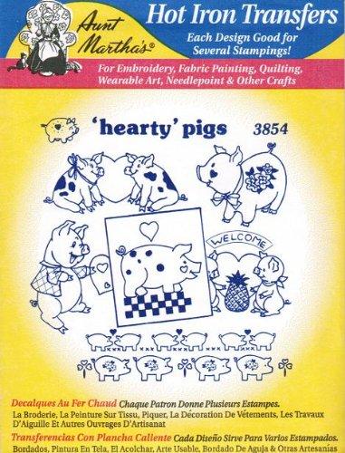 왕성한 돼지 이삭 Martha의 뜨거운 철 자 수 전송/Hearty Pigs A..