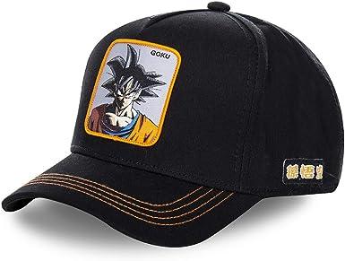 Collabs Dragon Ball Z Goku Trucker Gorra Hombre Negro