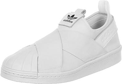 Guau piano Pocos  Amazon.com: adidas Superstar Slip On Mujer Zapatillas Color Blanco, Blanco,  5 B(M) US: Shoes
