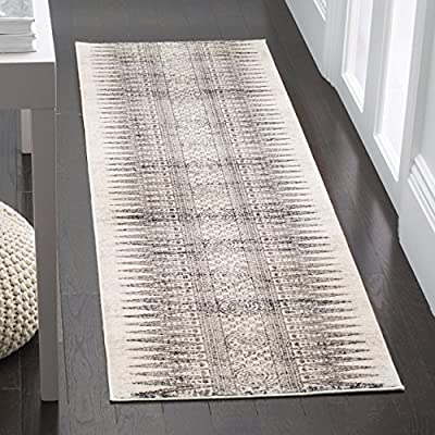 Safavieh Evoke Collection EVK226A Bohemian Vintage Royal Blue Ivory Area Rug -  - runner-rugs, entryway-furniture-decor, entryway-laundry-room - 61g6BcVt93L. SS400  -
