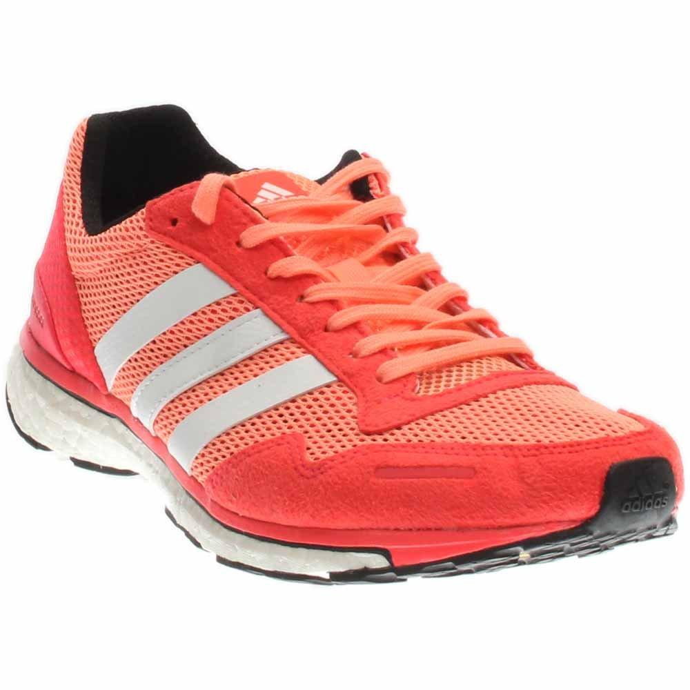 adidas Performance Women's Adizero Adios 3 W Running Shoe B010UT9PEM 11 B(M) US|Sun Glow Yellow/White/Shock Red