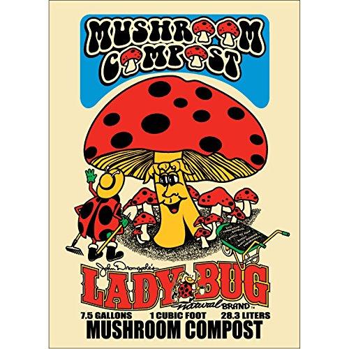 Organic Mushroom Compost (Lady Bug Mushroom Compost 1 Cu. Ft.)