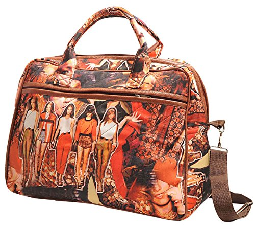 Yuga Printed Fashion Shoulder Handbags Designer Women Bags With Zipper Pockets Overnighter Bag Handbags