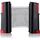 1Pcs Black Table Tennis Net Rack Retractable Portable Replacement Ping Pong Accessories