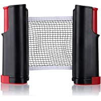 1Pcs Portable Table Tennis Net Rack Replacement Ping Pong Accessories Retractable Black