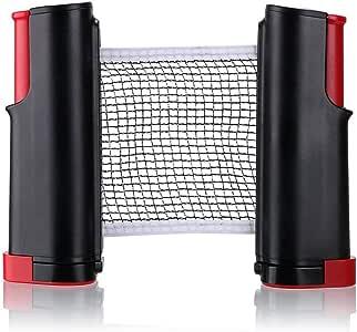 1Pcs Portable Table Tennis Net Rack Replacement Ping Pong Accessories Retractable Black