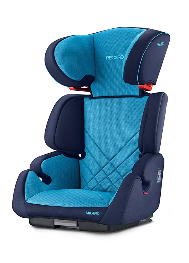 Recaro Milano Seatfix, Silla de coche grupo 2/3, rojo (Racing Red): Amazon.es: Bebé
