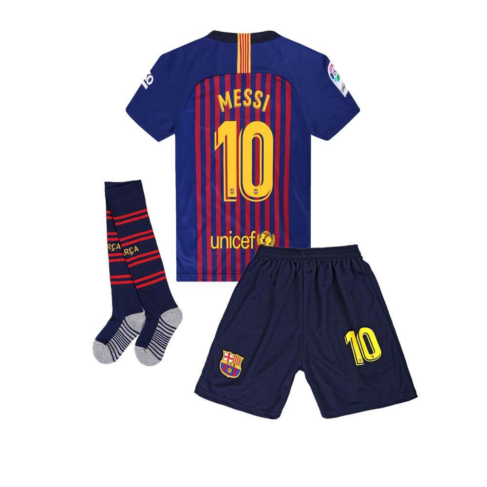 half off 6a786 6fb5a ANFUDSR 2018-2019 Barcelona #10 Messi Kids/Youth Soccer ...