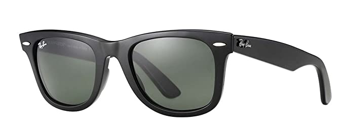 682fe1ec02 Ray-Ban Unisex RB2140 Original Wayfarer Sunglasses 50mm: Amazon.es ...
