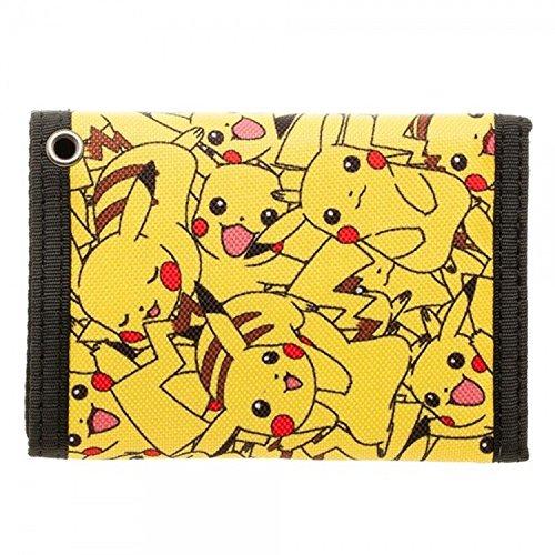 Pokemon Pikachu Velcro Wallet
